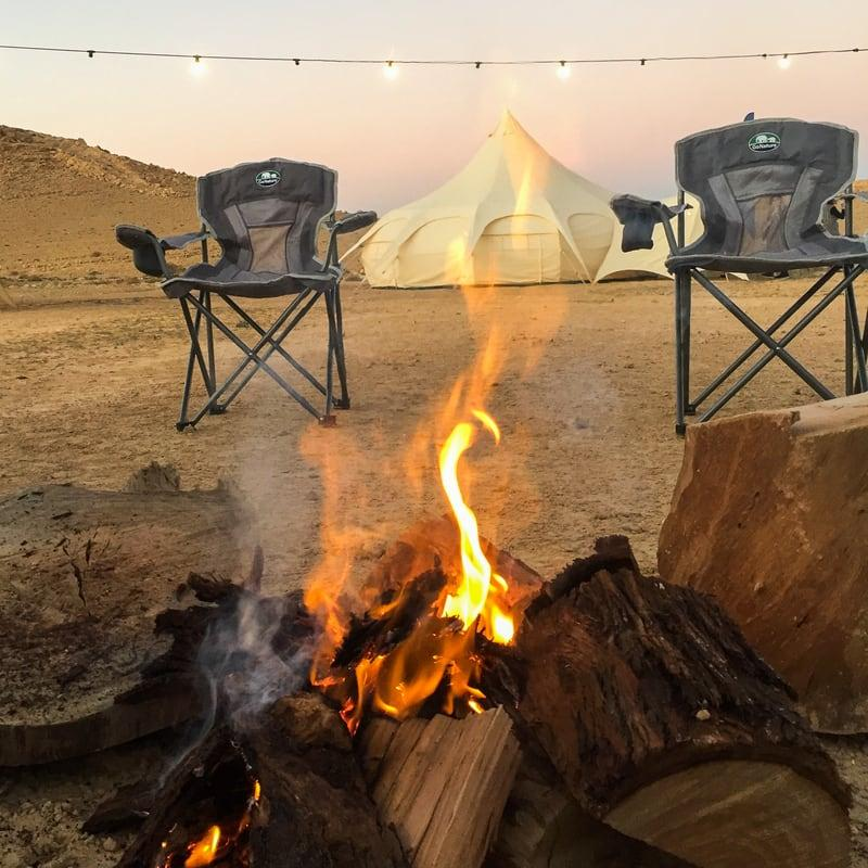 A successful collaboration in the desert of Israel with A unique concept – Glamping | Sheila Baron | Israeli Travel Bloggers and influencers