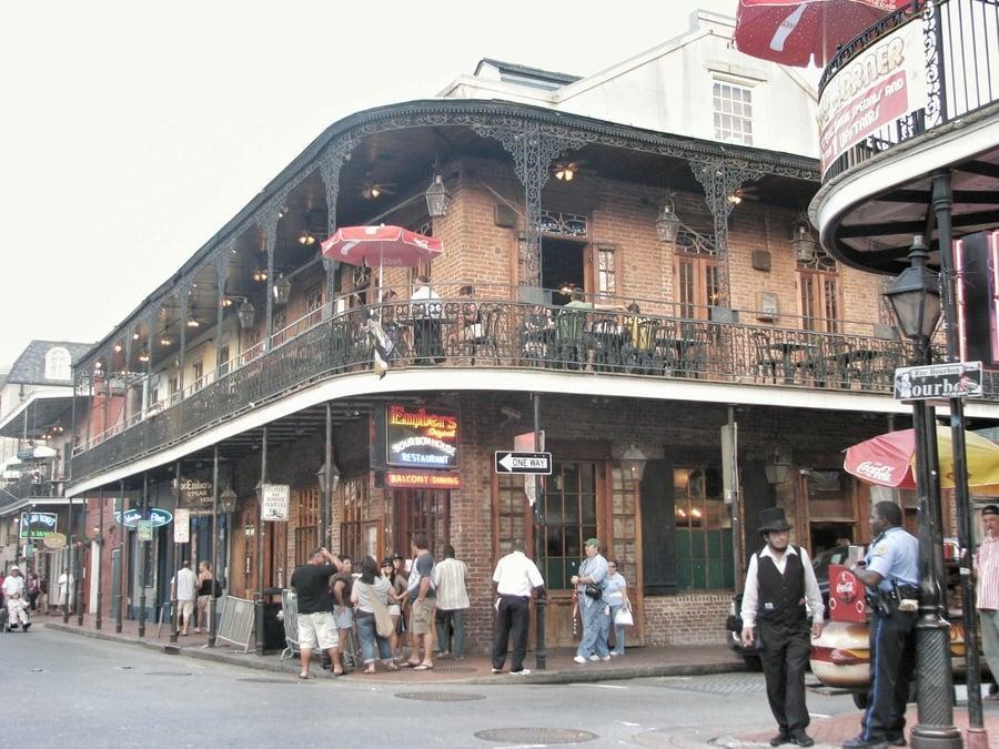 הרובע הצרפתי (French Quarter) בניו אורלינס. צילום - אושרה קמחי