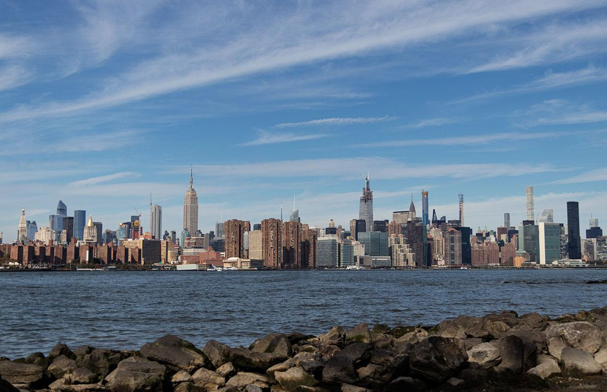 קו הרקיע של מנהטן ניו יורק